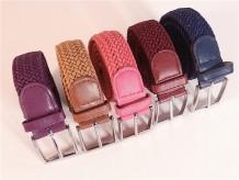 Cinturón elástico trenzado
