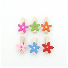 Mini pinzas flor