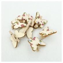 Mini pinzas mariposa