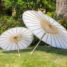 Sombrilla china de papel