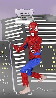 Disfraz super héroe zombie