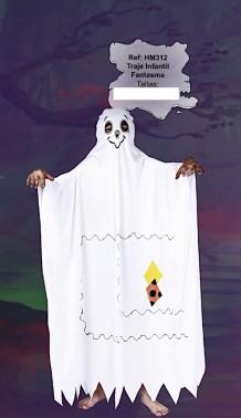 Disfraz fantasma