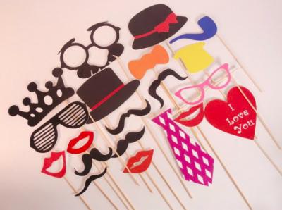 Gafas, diademas y máscaras