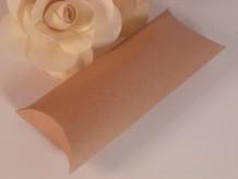 Caja de cartón ovalada kraft