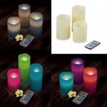 Set de 3 velas