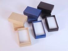 Caja mini de cartón con tapa
