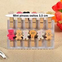 Mini pinzas de ositos