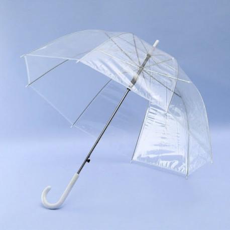 Paraguas transparente copa