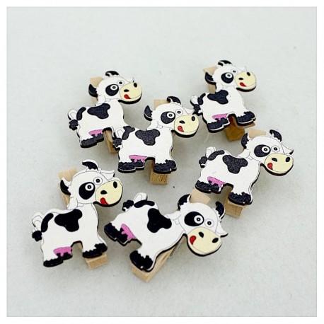 Mini pinzas vaca