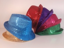 Sombrero lentejuelas niños