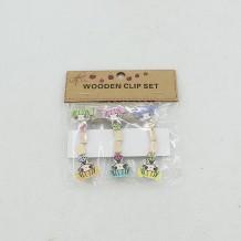 Mini pinzas muñeca