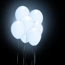 Globos luz blancos