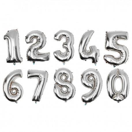 Globos número