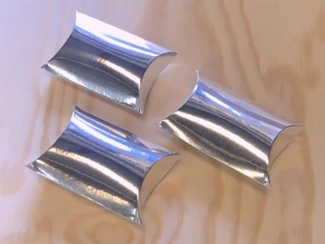 Cajas ovaladas metalic