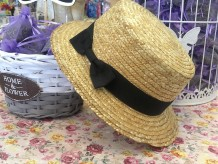 Sombrero canotier infantil