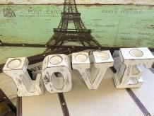 Portavelas LOVE