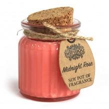 Vela de cera de soja rosa