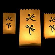 Bolsas de papel para velas