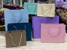Bolsas de cartón pastel