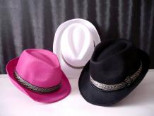 Sombrero tela tipo gangster
